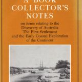 A Book Collector's Notes by Rodney Davidson